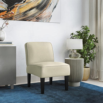 Handy Living Brimley Armless Chair - Oatmeal Tan