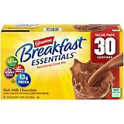 Carnation Breakfast Essentials Classic Chocolate, 30 pk./1.26 oz.