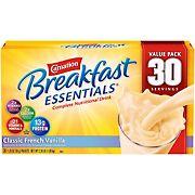 Carnation Breakfast Essentials Classic French Vanilla, 30 pk./1.26 oz.