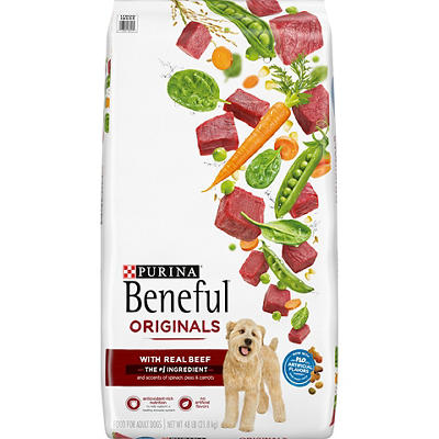 Purina Beneful Originals with Real Beef Dog Food, 48 lbs.