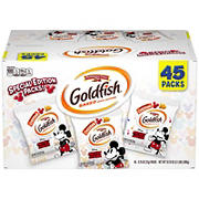 Pepperidge Farm Goldfish Special Edition Disney Mickey Mouse Cheddar Crackers Snack Boxes, 45 pk./ 0.75 oz.