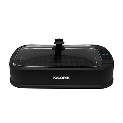 Kaloric Electric Indoor Smokeless Grill - Black