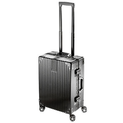 "National Travel Safe 20"" Spinner Suitcase - Black"