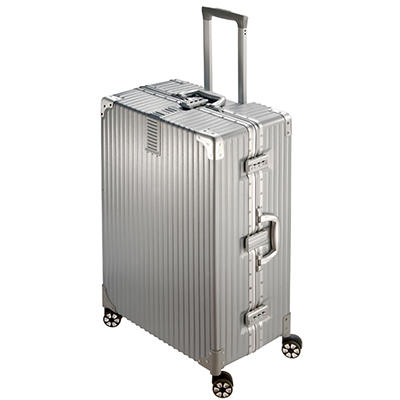 "National Travel Safe 29"" Spinner Suitcase - Silver"
