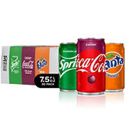 Coca-Cola Mini Cans Variety Pack, 30 pk.