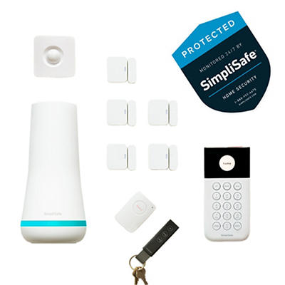 SimpliSafe 10pc. Wireless Home Security System