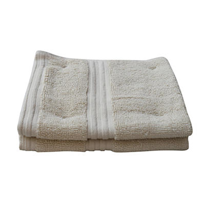 Berkley Jensen Wash Cloths, 2 pk - Linen