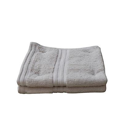 Berkley Jensen Wash Cloths, 2 pk. - Light Gray