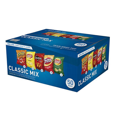 Frito-Lay Classic Variety Pack, 50 ct.