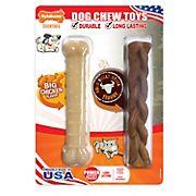 Nylabone Big Chicken/Bold Bully Chew Toys, 2 pk.