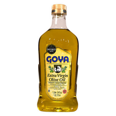 Goya Extra Virgin Olive Oil, 34 oz..