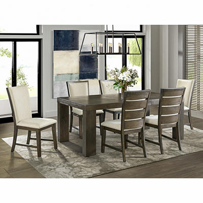 Peyton 7 Piece Standard Height Dining Set with 2 Drop-In Leaves