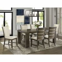 Deals on Peyton 7-Pc. Standard Height Dining Set w/2 Drop-In Leaves