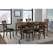 Winston 7-Pc. Standard Height Dining Set - Cherry