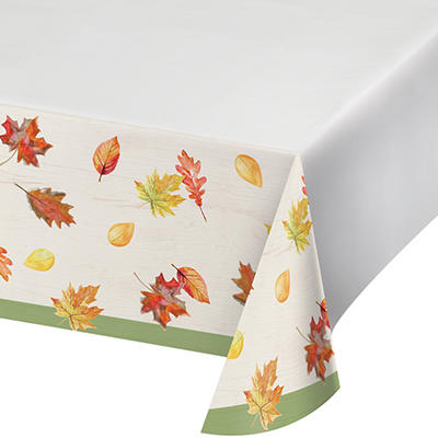 "ArtStyle Color My Fall Tablecover, 54"" x 108"", 3 ct."