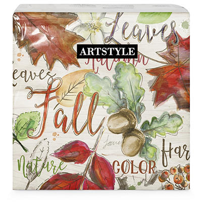 ArtStyle Color My Fall Napkins, 120 ct.