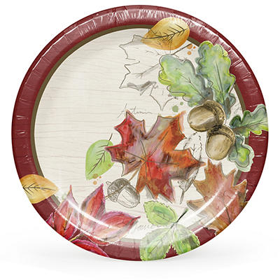 "ArtStyle Color My Fall 6.75"" Plates, 75 ct."
