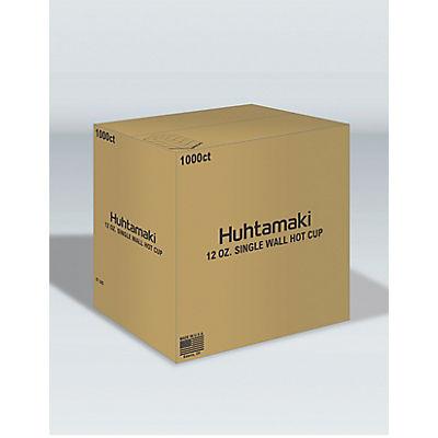 Huhtamaki White Paper Cups, 12 oz./1,000 ct