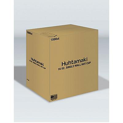 Huhtamaki White Paper Cups, 16 oz./1,000 ct
