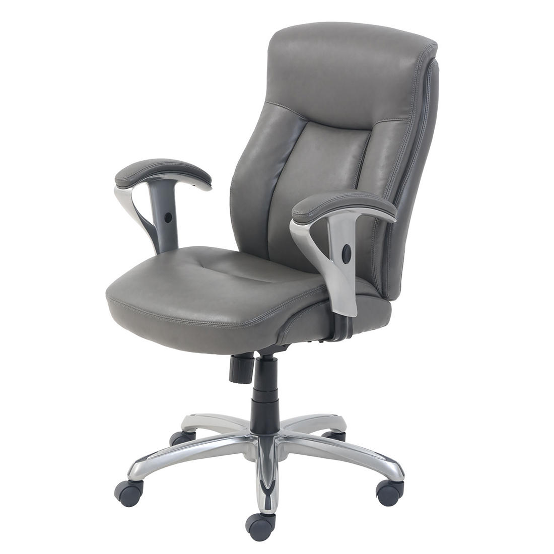 La Z Boy Manager S Chair Gray Bjs