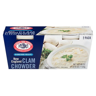 Legal Sea Foods New England Clam Chowder, 2 pk./20 oz.
