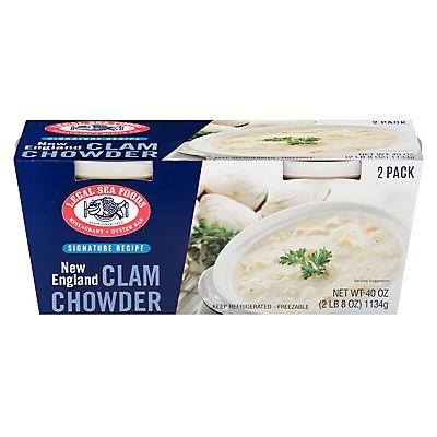 Legal Sea Foods New England Clam Chowder, 2 pk./20 oz.