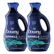 Downy WrinkleGuard Liquid Fabric Softener and Conditioner, 2 pk.