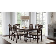 Abbyson Living Abel 7-Pc. Dining Set - Brown