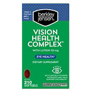 Berkley Jensen Vision Health Complex Softgels, 210 ct.