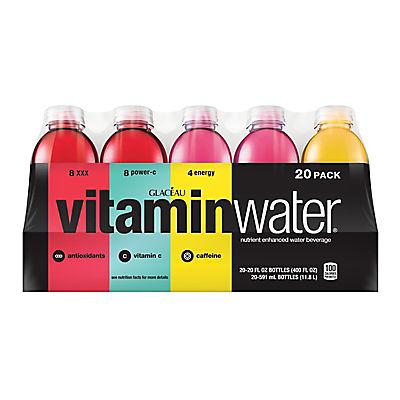 Glaceau Vitaminwater Variety Pack, 20 pk./20 fl. oz.