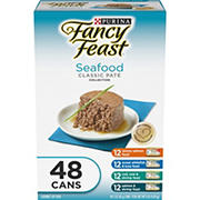 Purina Fancy Feast Classic Seafood Variety Pack, 48 ct.