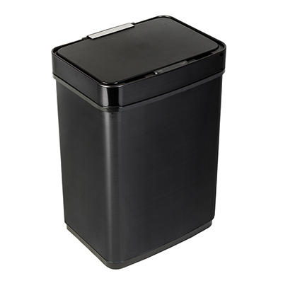 Honey-Can-Do 50L Stainless Steel Trash Can with Motion Sensor and Soft