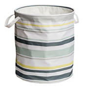 Honey-Can-Do Explore + Store Collection Multi-Stripe Hamper