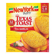 New York Bakery The Original Texas Toast with Real Garlic, 32 ct.