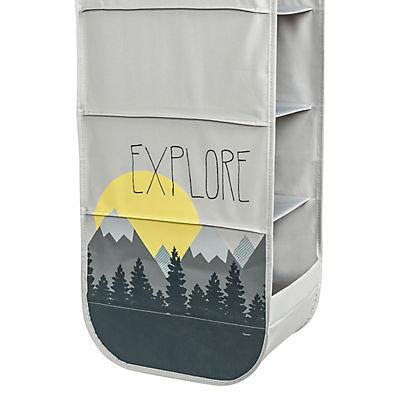 Honey-Can-Do Explore + Store Collection Hanging Closet Organizer