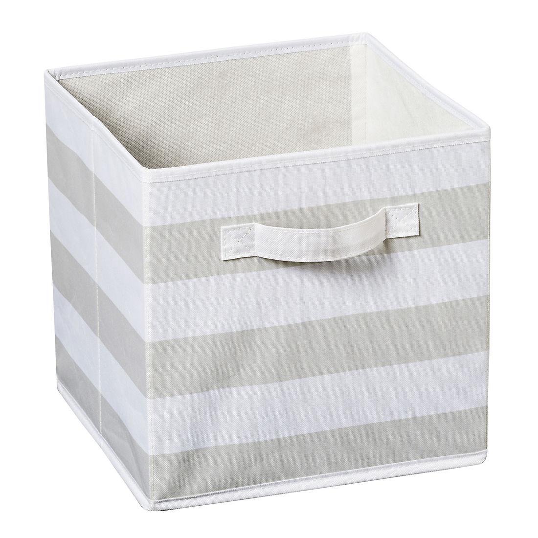 Honey-Can-Do 3-Pc. Explore + Store Kids Toy Storage Bin Set - Gray Stripe