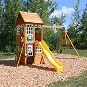 KidKraft McKinley Wooden Swing Set and Play Set