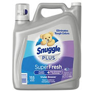 Snuggle Plus Super Fresh Violet Breeze Liquid Fabric Softener, 164 fl. Oz.