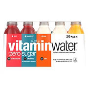 Glaceau Vitaminwater Zero Variety Pack, 20 pk./20 fl. oz.