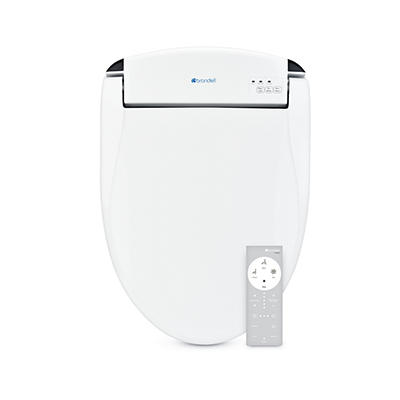 Brondell Swash DS725 Advanced Elongated Bidet Toilet Seat - White