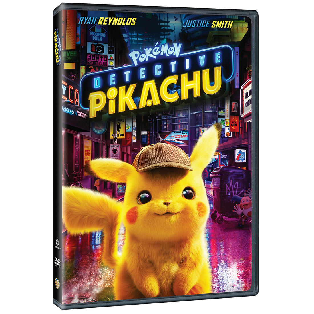 graphic relating to Pokemon Binder Cover Printable titled Pokemon Detective Pikachu (DVD)