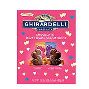 Ghirardelli Chocolate Duet Hearts Assortment, 16.9 oz.