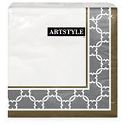 Artstyle Lines and Loops 3 Ply Napkins