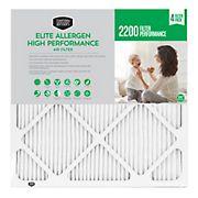 """Berkley Jensen 20"""" x 25"""" x 1"""" 2200 Filter Performance Elite Allergen High Performance Air Filter"""