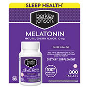 Berkley Jensen Cherry Flavored Melatonin Tablets, 300 ct.