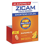 Zicam RapidMelt Citrus Cold Remedy, 56 ct.