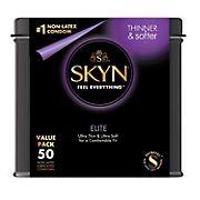 SKYN Elite Non-Latex Condoms, 50 ct.
