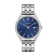 Caravelle Men's Dress Watch in Stainless Steel