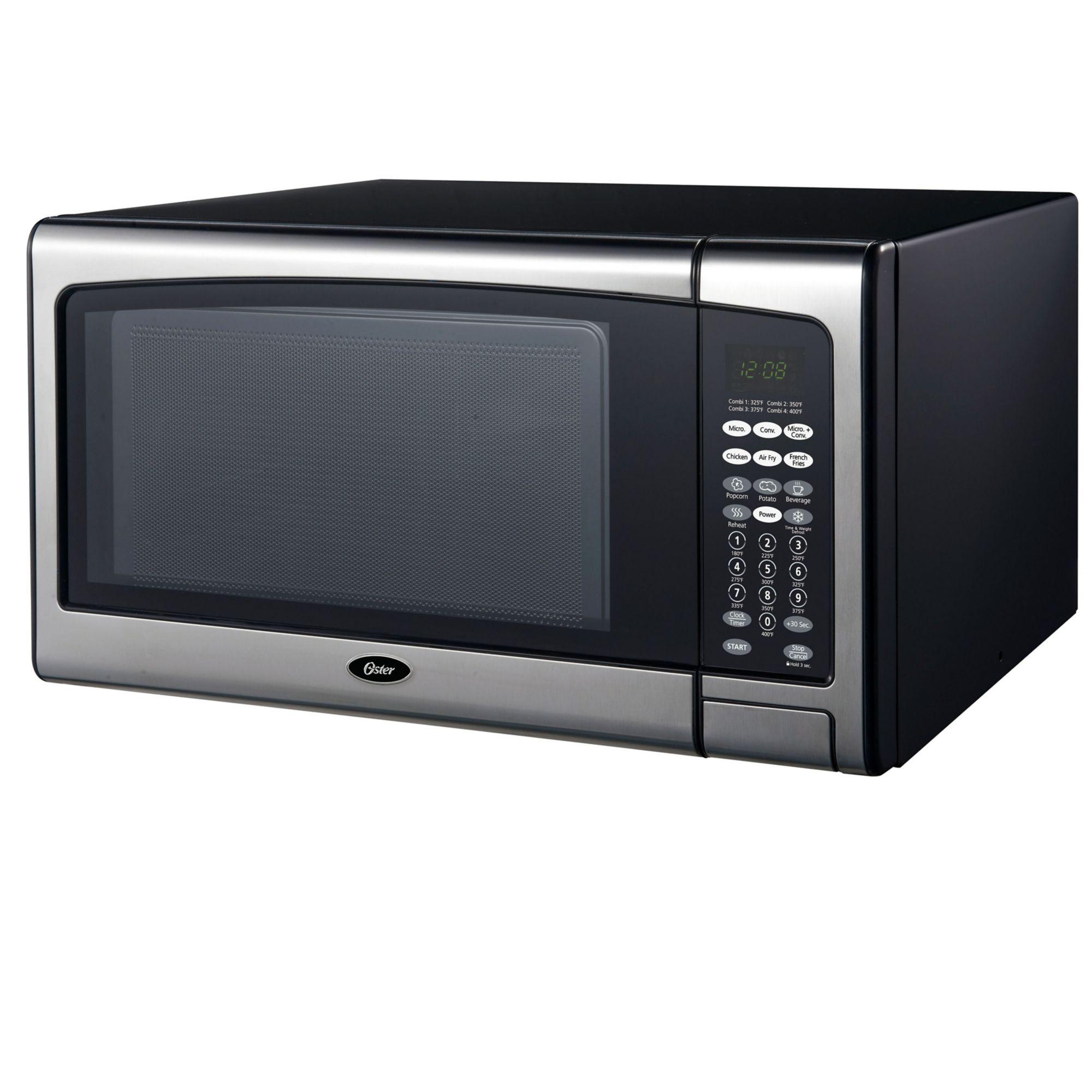 Oster 1.1 cu ft 1100W Digital Microwave