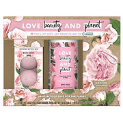 Love Beauty Planet Bountiful Moisture Spa Body Kit, 3 pk.